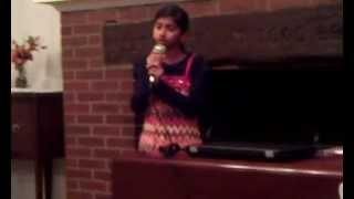 Mayil Pola Ponnu Onnu by Shankari Ravithas in November 2011, Michigan, USA.