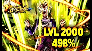 QUE VAUT MIRAI TRUNKS GRATUIT ?! TEST LVL 2000 498%  | DRAGON BALL LEGENDS