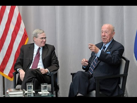 USIP 2015 Dean Acheson Lecture: George P. Shultz, former Secretary of State