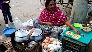 Street Cooking & Recipe- Street Food World- Winter Street Food Pitha* Bengali Food of Dhaka in BD