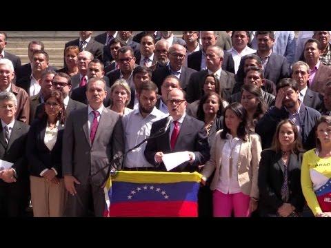 Venezuela: oposición pide cesar