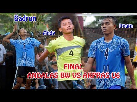 Spek Keras Badrun Andalas BW VS ARPAS Unit 6 | Deka VollyBall Lampung