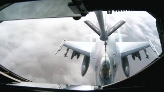 KC-135 Refueling Crew Saves Fighter Pilot Over Afghanistan