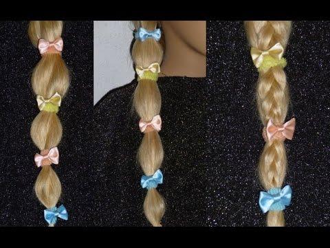 3Einfache und schnelle Frisuren für die Schule für Kinderhaare. 3 Easy Hairstyles.Peinados