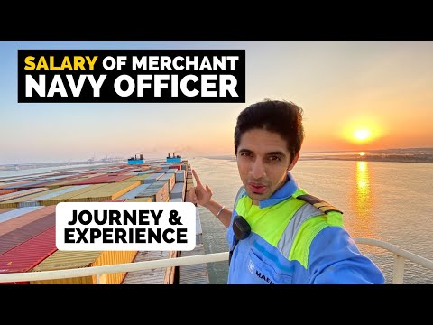 My SALARY as merchant navy officer   Journey and experience in MAERSK