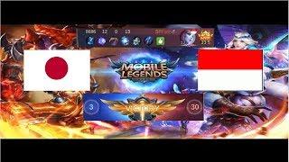 indo vs japan match 3 arena national contest pembantayan