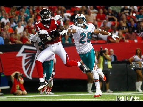 NFL 2013 Week 3  - Atlanta Falcons vs Miami Dolphins MICHAEL TURNER INJURED. Dolphins 2-0