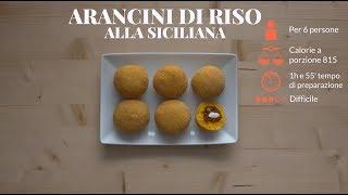 Arancini alla siciliana