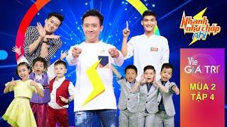 #4 Đồng hương Nhí của Hariwon khiến Trấn Thành hú vía | NHANH NHƯ CHỚP NHÍ - Mùa 2