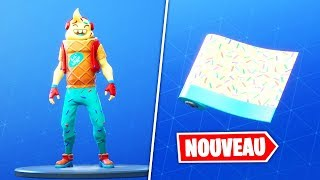 "NEW SKIN ""P'TIT CORNET"" - ""ENROBAGE"" (Fortnite Battle Royale)"