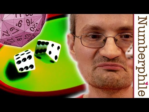 Weird But Fair Dice (plus the D120) - Numberphile