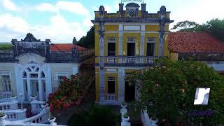 Hotel Globo e Igreja de São Frei Pedro Gonçalves.