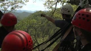 Navitat Asheville NC Zipline Canopy Adventure.mov