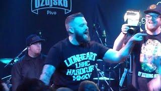 LIONHEART - Undisputed & Lifer & Hail Mary - Vintage Industrial Bar - Zagreb 17.03.2015