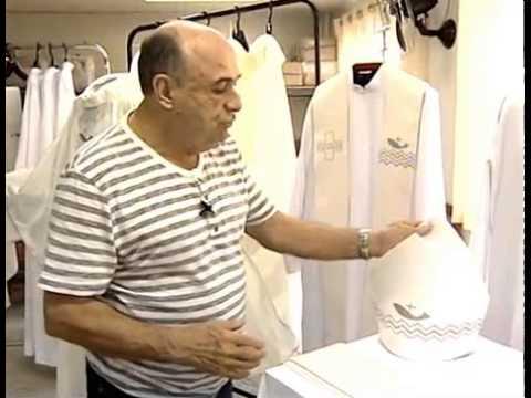 Cordis finaliza roupa que Papa Francisco irá usar no Brasil - Matéria ESTV