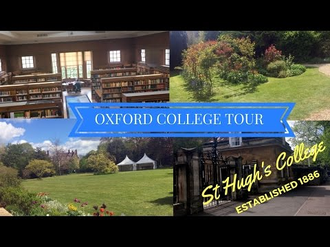 TT1: Oxford College Tour - St Hugh's