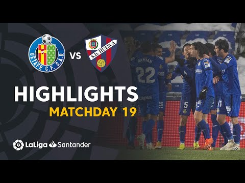 Getafe Huesca Goals And Highlights
