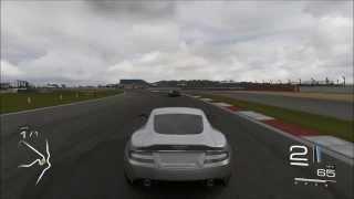 Forza 5 2008 Aston Martin DBS V12 on Silverstone Gameplay