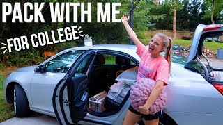 PACK WITH ME FOR COLLEGE | aka stress with me