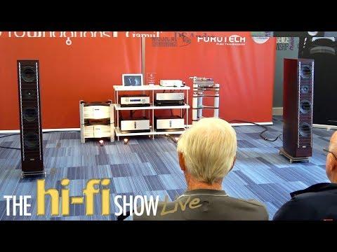 GamuT Isotek Furutech ClearAudio Blue Horizon DS Audio Sound Fowndations Room @ Hi-Fi Show Live 2017