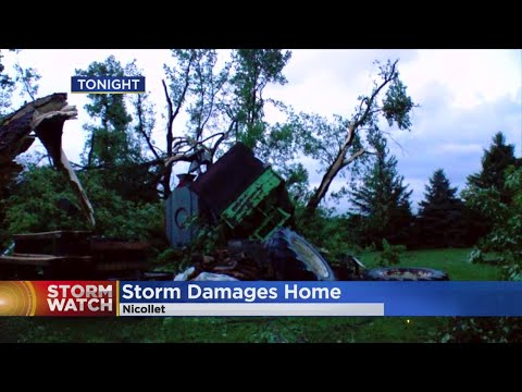 Multiple Tornadoes Reported In Minnesota