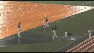 Clemson Baseball vs. Davidson Rain Delay Antics Part 2