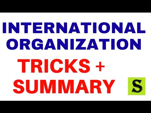 all international organisation| world organizations|tricks in hindi |upsc uppsc ssc cgl 2017 ibps po