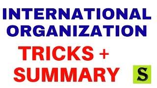 all international organisation| world organizations| gk tricks trick in hindi upsc uppsc ssc upsssc