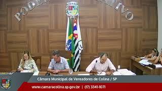 Câmara Municipal de Colina - 15ª Sessão Ordinária  - 07/10/2019