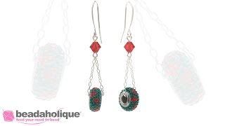 How to Make the Swinging Holly Earrings