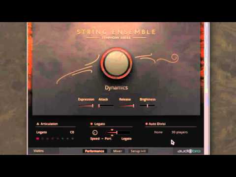 Symphony Series - String Ensemble: Auto Divisi | Native Instruments