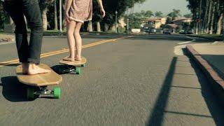 Hamboards crew longboard sessions // surf & skate