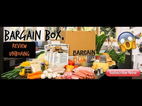 BARGAIN BOX nz REVIEW/UNBOXING 📦🥙🍗🍅