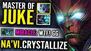 Crystallize JUKE MIRACLE with  TB Crazy Game Dota 2 Carry