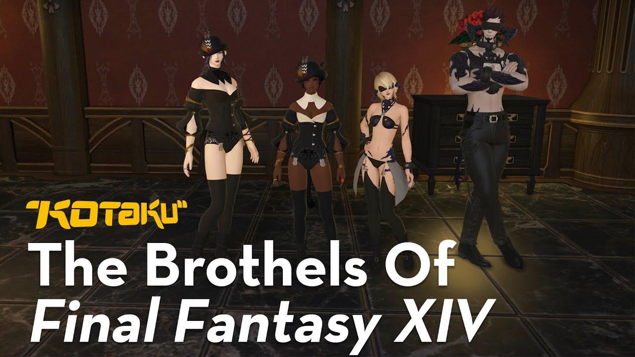 The Brothels Of Final Fantasy XIV