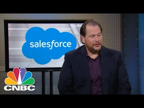 Salesforce CEO Marc Benioff: Moving Forward Together | Mad Money | CNBC