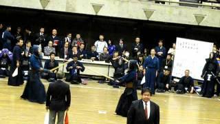 剣道総合サイトLET'S KENDOにて、H23/12/4に行なわれた第22回学連剣友剣...