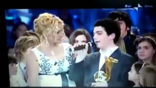Gianluca Ginoble singing Il Mare Calmo Della Sera in Tilascio una Canzone.