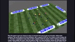 Small Sided Games for Gaelic Football