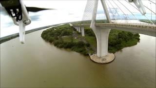 vuelo sobre rio Coatzacoalcos