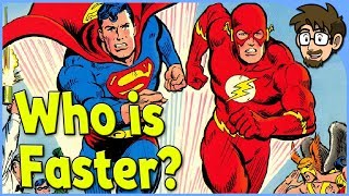 Theory: Is Superman Faster Than The Flash?