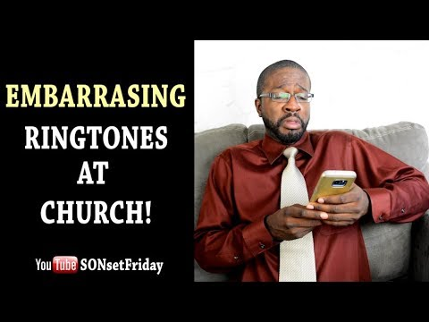 When Embarrassing Ringtones Go Off At Church! (FUNNY) 😂