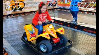 Kids Car Race Have Fun with Dad