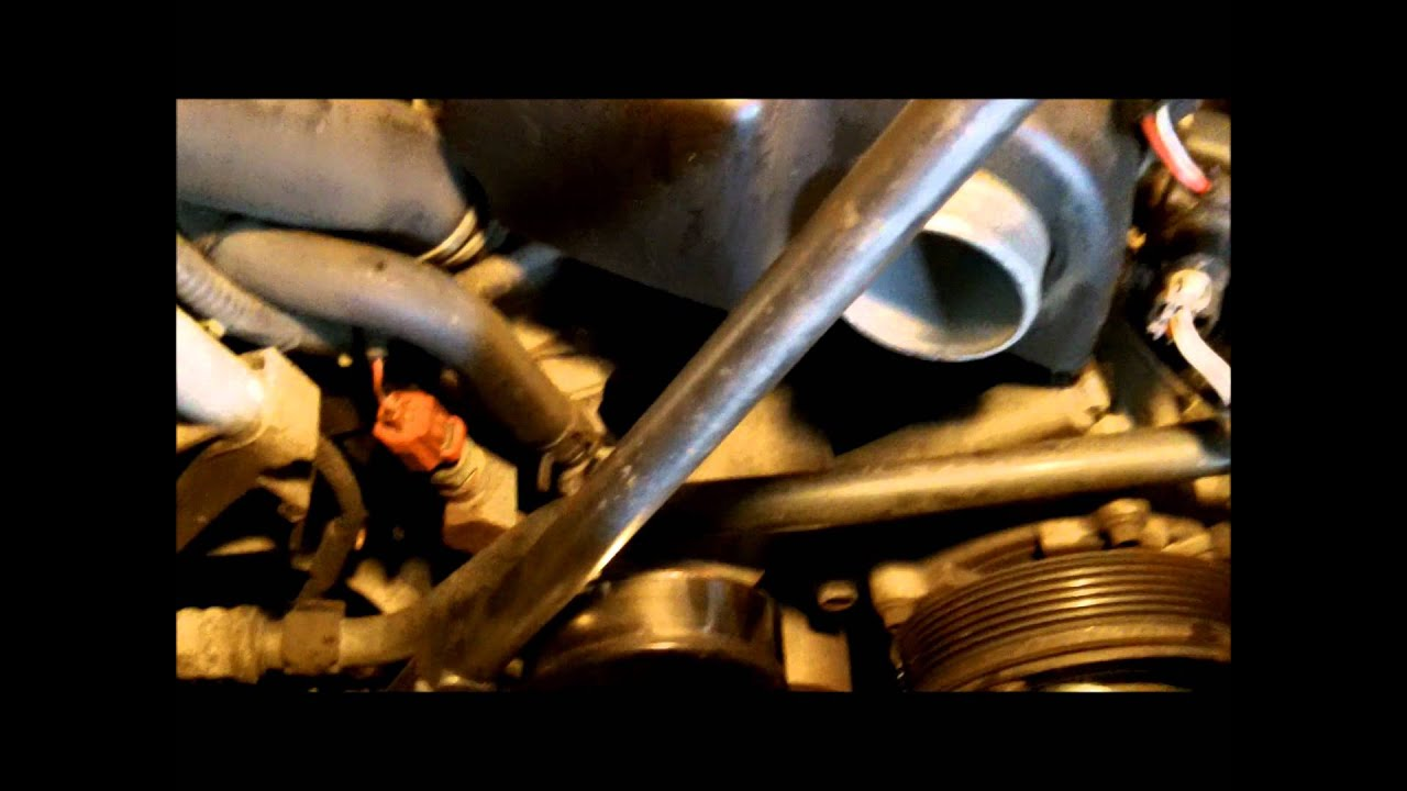 Ford Ranger 3 0 Timing Chain Replacement Part I Wm Youtube