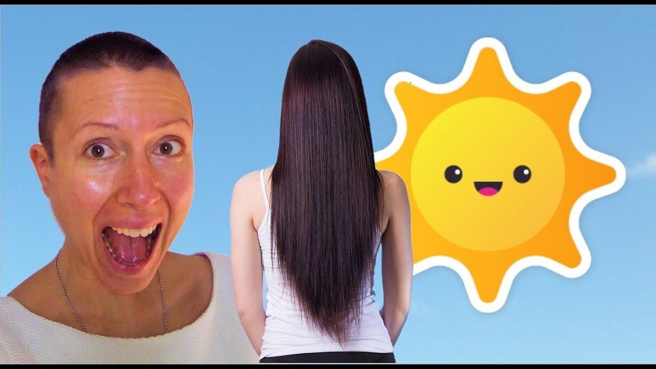 Le soleil fait pousser les cheveux