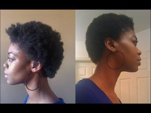 Natural Hair 4c Shrinkage Youtube