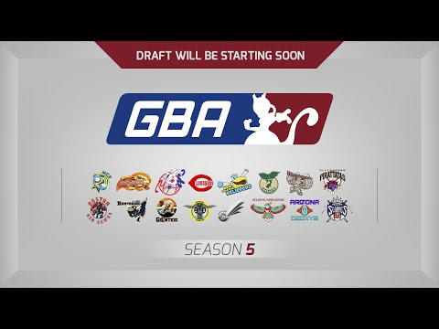 GBA Season 5 Live Draft Stream