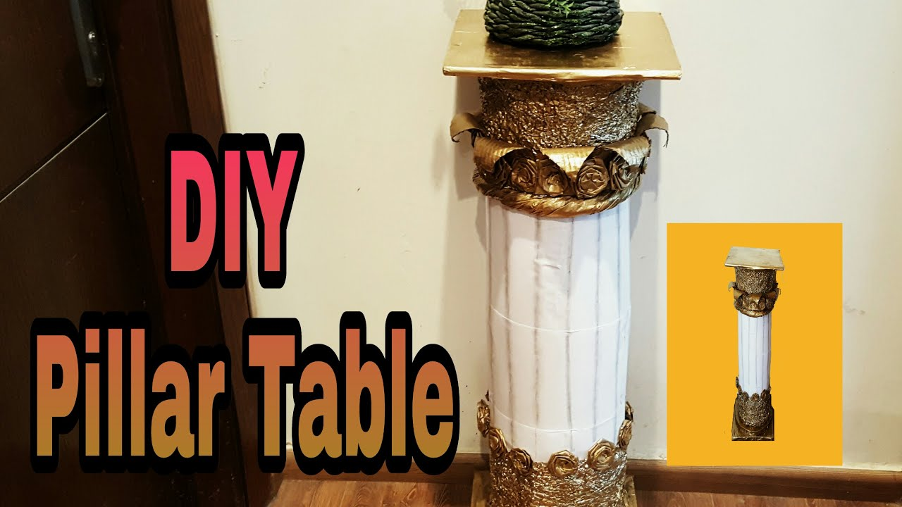 Diy best out of plastic bottles table pillar room decor idea diy best out of plastic bottles table pillar room decor idea solutioingenieria Image collections