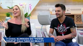 "Faby Monarca aponta casal ""mascarado"" no Power Couple Brasil"