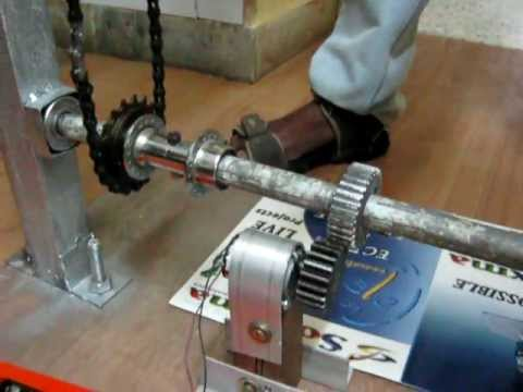 Foot Step power generation
